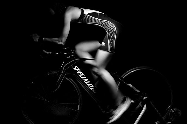 indoor bike photo