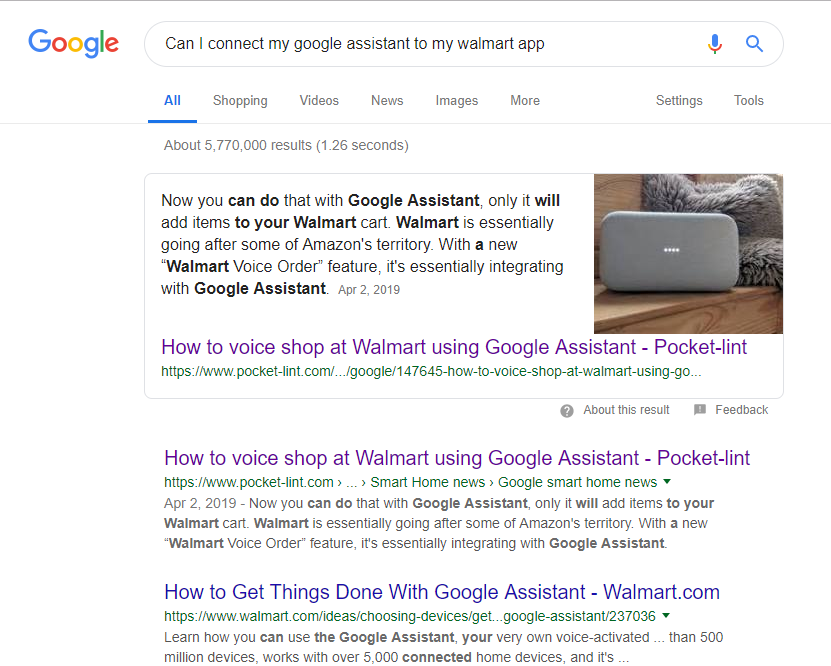 My Google Assistant and Walmart Grocery…A Love Story in