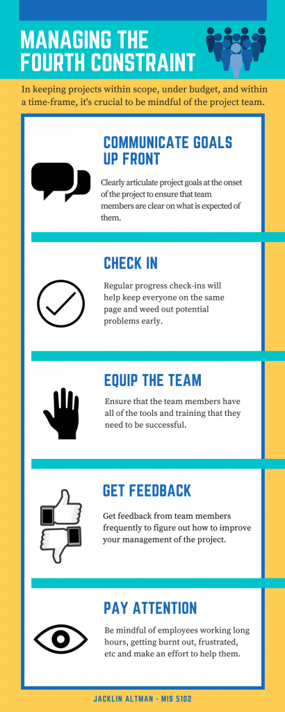 project management infographic
