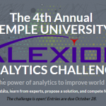 The Fourth Annual Temple University Alexion Analytics Challenge is Open!